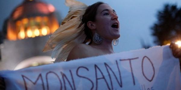 Manifestazione contro la Monsanto