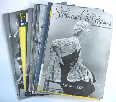 Un lotto di riviste vintage
