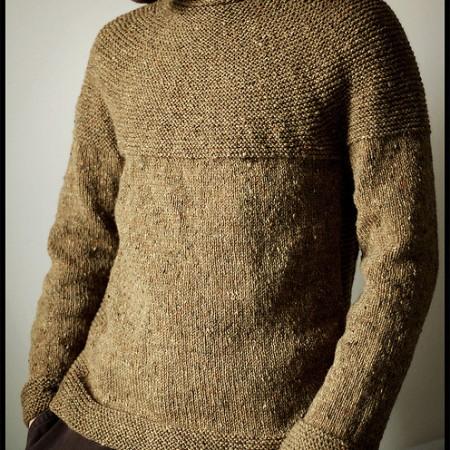 Foto, maglione, modello e pattern ©Jared Flood