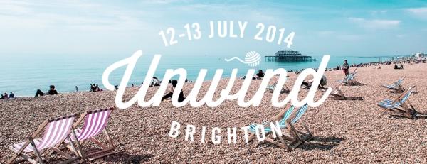 Il logo di Unwind Brighton