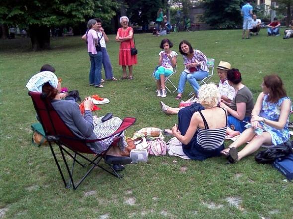 Un'immagine dell'evento WWKIPD milanee del 2010
