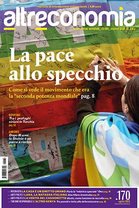 La copertina del numero