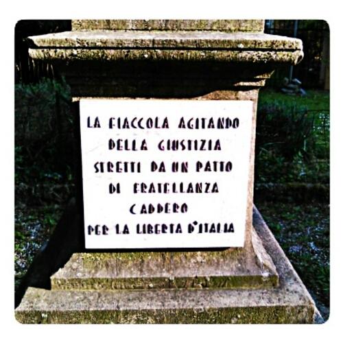 La stele ai partigiani di Sesto San Giovanni