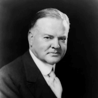 Herbert Hoover, presidente degli USA dal 1929 al 1933