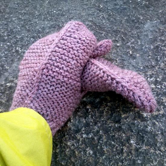Le Ambidexterous mittens di Elizabeth Zimmermann
