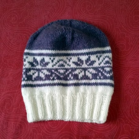Il cappellino che lavoreremo assieme al Giardino Blu