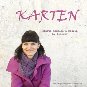 La copertina di Karten di Valentina Cosciani