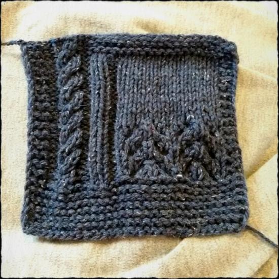 Tweed di lana riciclata