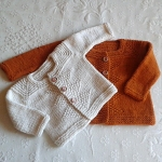 Baby Cardigan top down