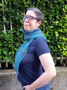 Fish Factor può essere indossata anche come sciarpa!