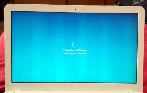 Un temibile schermo blu?