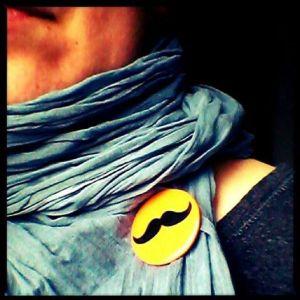 Per tutto il mese io porto i baffi!