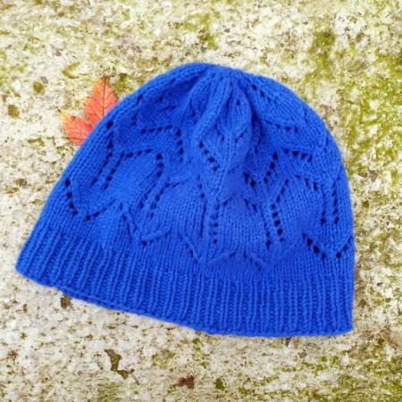 Il cappellino Leafy Chevron Hat