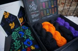 Knit like a Latvian kit
