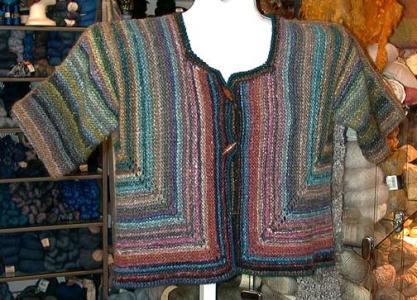 La ASJ corta di Knitting Geek