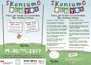 Il programma completo della fiera Skonsumo Oekotex