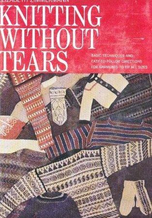 La prima edizione di Knitting Without Tears di EZ