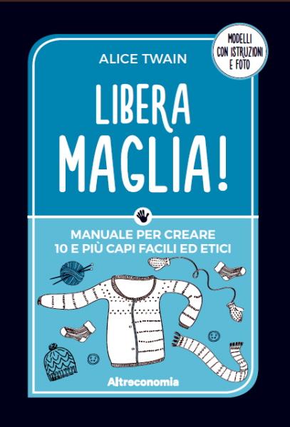 Libera maglia! Il mio nuovo libro è disponibile per l'acquisto