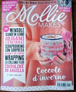 Mollie Makes, dicembre 2017