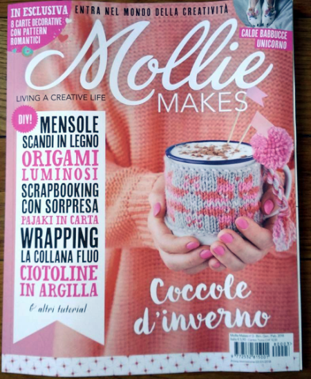 Mollie Makes, dicembre 2017