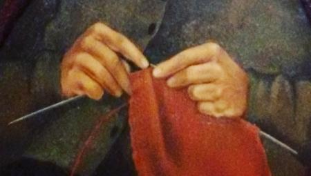 Dettaglio delle mani