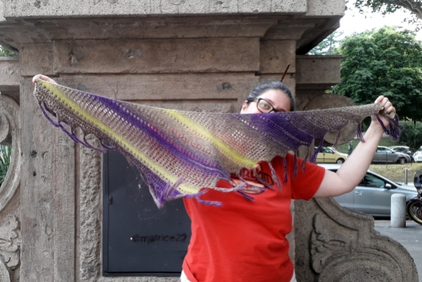 Shrimp scarf: clicca sulla foto per comprare il modello