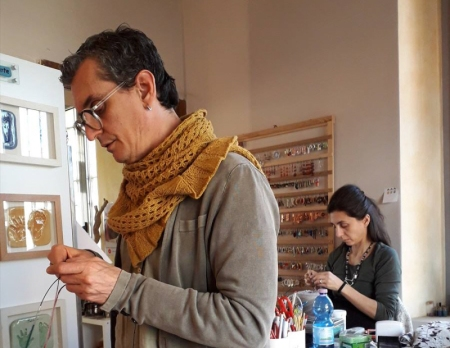 Davide Campagnol e Elisabetta Bernuzzi