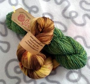 Matasse di lana artigianale