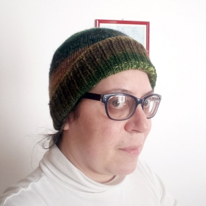 Cappellino facile con Kureyon di Noro
