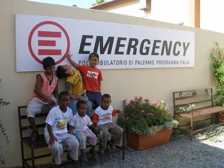 L'ambulatorio di Emergency a Palermo