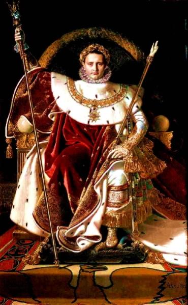 Ingres, Napoleone sul trono imperiale