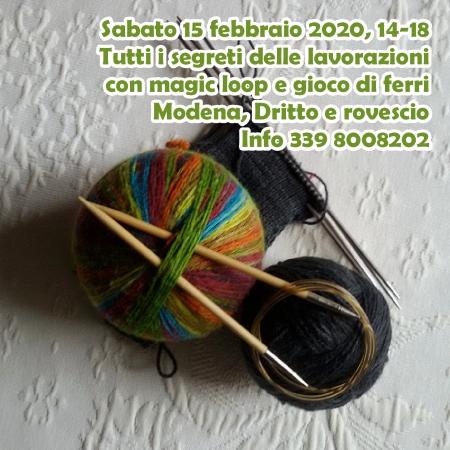 Corso di maglia in tondo a Modena