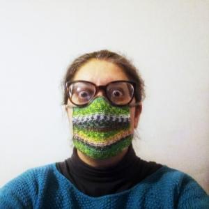 La mascherina ai ferri