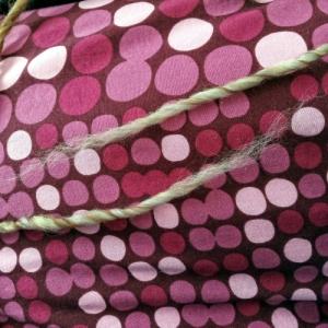 Filo di lana sfibrato