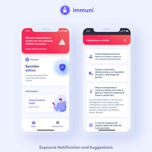 Messaggio di Immuni