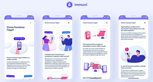 Come funziona Immuni