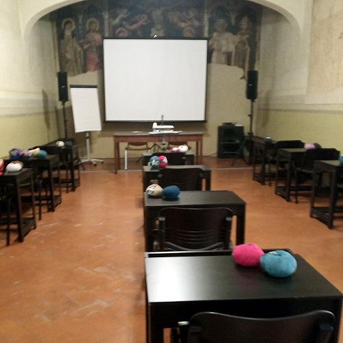 Aula all'Educatorio del Fuligno