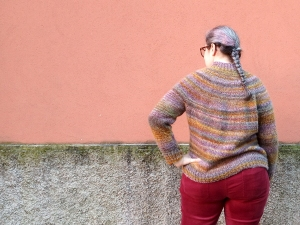 maglione top down facile
